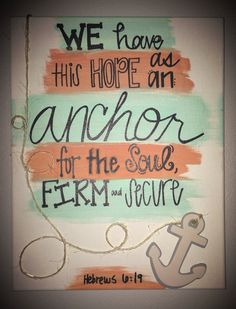 Anchor Canvas by carlenescloset on Etsy, $20.00