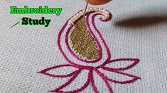 Hand Embroidery For Beginners This video will show you a hand embroidery Aari basic flower designs. Tambour Embroidery, Blackwork Embroidery, Ribbon Embroidery, Cross Stitch Embroidery, Shirt Embroidery, Embroidered Blouse, Hand Embroidery Flower Designs, Types Of Embroidery, Hand Embroidery Patterns