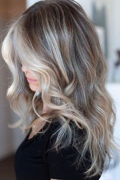 Mushroom Blonde Hair Is Everything You Need This Winter—Here Are 15 Gorgeous E. - - Mushroom Blonde Hair Is Everything You Need This Winter—Here Are 15 Gorgeous Examples to Show Your Stylist - Health Blonde Hairstyle Models 2019 Top B. Blonde Hair Looks, Brown Blonde Hair, Blonde With Brown Lowlights, Cool Toned Blonde Hair, Blonde Hair For Winter, Blonde Brunette Hair, Grey Blonde Hair Color, Ashy Blonde Highlights, Metallic Hair Color