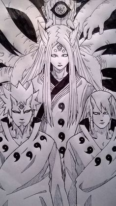 The Otsutsuki Clan - Naruto Naruto Shippuden Sasuke, Wallpaper Naruto Shippuden, Madara Uchiha, Naruto Wallpaper, Hinata, Manga Anime, Anime Naruto, Naruto Art, Naruto Sketch