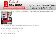 Richards Body Shop - MECHANICAL FACILITY Auto Collision Repair, The Body Shop, Shopping