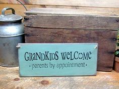 "This wooden sign is made from pine, and measures Approx 5.5""W x 13""L. It reads…"