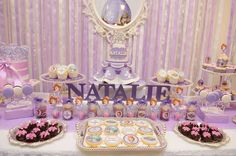 Sofia the First Birthday Party Ideas | Photo 3 of 26 | Catch My Party