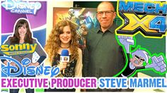 Steve Marmel has been behind some of the biggest shows in kids' entertainment...Sonny with a Chance, Danny Phantom, The Fairy Odd Parents, So Random!, and more...now he's created a new #Disney show called Mech-X4! Check out the interview! There's lots of good stuff in here! #DisneyChannel #DisneyXD #GenZ