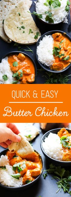After trying and testing many different butter chicken recipes, I can finally say this is the best one! Pin now and make later! Curry Recipes, Vegetarian Recipes, Healthy Recipes, Easy Recipes, Healthy Food, Butter Chicken, Different Chicken Recipes, Cooked Chicken Recipes, Chicken Meals
