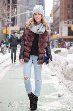 Glam4You por Nati Vozza | Meu Look: Ripped Jeans