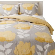 New bedding collection for Target, designed by yours truly - just arrived! Shout out to Jessica Hiltz for helping out on this one! Room Essentials® Poppy Comforter - Yellow