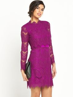 V by Very Two In One Lace Pencil Dress