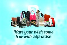 We are thrilled to be giving you the chance to WIN your WISH with Alphatise! Alphatise is a revolutionary new online marketplace that lets shoppers have a say in what they pay. JOIN TODAY for FREE for your chance to WIN your wish. Wish Come True, News Online, Decluttering, Revolutionaries, Giveaway, Competition, Let It Be, Places, Lugares