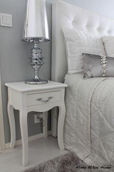 Home White Home: Uutta makuuhuoneessa - Tuunatut yöpöydät