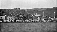 Άποψη της Θεσσαλονίκης από την θάλασσα,  περ. 1890