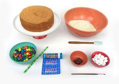 Ingredients kids birthday cakes: Anti gravity cakes!