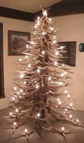 Deer antler Christmas tree (: