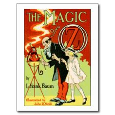 The Magic Of Oz Post Cards