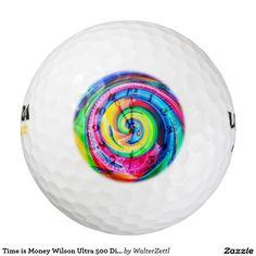 Time is Money Wilson Ultra 500 Distance Golf Ball Pack Of Golf Balls