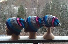 MIN VM LUE I FALK - www.mittgarnkammer.com Bonnet Hat, Knit Picks, Oslo, Mittens, Knitted Hats, Beanie, Knitting, Accessories, Biathlon
