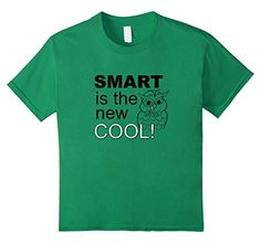 Kids Smart is the New Cool T-shirt 6 Kelly Green Gifted P... https://www.amazon.com/dp/B0762J52WJ/ref=cm_sw_r_pi_dp_x_N.WZzb0NEPK89