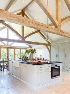 Welsh Oak Frame kitchen extension