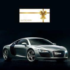 Traumauto Audi R8 Fahren Geschenk Gutschein Lamborghini Huracan, Cadillac, Vw T1, Audi R8, Bmw, Vehicles, Autos, 3 Years, Guy Gifts