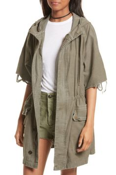 Nordstrom Rack, Free People Reworked Army Jacket