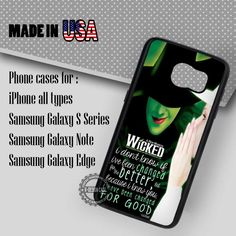 Samsung S7 Case - Quote Broadway Disney - iPhone Case #SamsungS7Case #Quote #yn