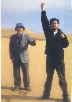 Hayao Miyazaki and Hideaki Anno...being bros… AT BARAJI!!!