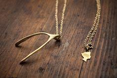 Wishbones Necklace