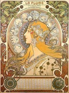 @Claire Spinti another art nouveau poster
