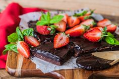 Healthy Chocolate Brownies