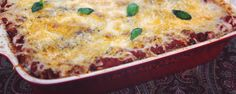 This cheesy veggie lasagna is one hearty dish you won't be able to get enough of!