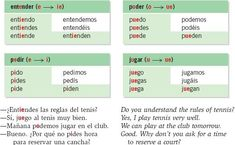 stem changing verbs e to ie - Google Search Funny Spanish Memes, Spanish Humor, Spanish Class, Learning Spanish, Spanish Tenses, Verbs List, Learn Another Language, Verb Worksheets, Irregular Verbs