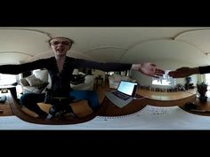 360 Video for Tau Day - Real-Time Reality Video, moving in 360º with your smart phone!!