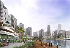 Eko Atlantic City, Lagos, Nigeria