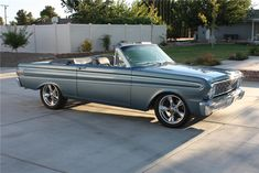 1964 FORD FALCON SPRINT CONVERTIBLE. #CLECKLEYMOTORWORKS