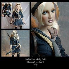 OOAK Suckerpunch Baby Doll Flutterwing Dolls by Shannon Craven www.flutterwing.com
