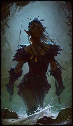 Fantasy Character Design, Character Design Inspiration, Character Concept, Character Art, Concept Art, Game Concept, Fantasy Races, Fantasy Rpg, Dark Fantasy Art