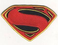 Batman vs Superman Dawn of Justice Movie PATCH Iron & Sew On