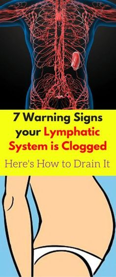 7 Warning Signs your Lymphatic System is Clogged – Here's How to Drain It - Workout Hit