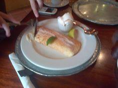 Harrys Pancakes - Dullstroom this time - Milktart custard filling . Milk Tart, Custard Filling, Fly Fishing, Pancakes, Africa, Yummy Food, Ethnic Recipes, Delicious Food, Milk Cake