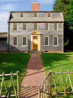 Tate House Museum, pre-Revolutionary War house, Portland, ME