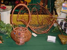 Copper Baskets all are one of a kind.