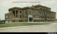 Jeff High School, Historic Jeffersonville, IN