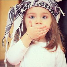 I beautiful Palestinian little girl. May God protect her from filthy terrorist israhell Baby Images, Children Images, Baby Photos, Children Poses, Beautiful Little Girls, Beautiful Children, Beautiful Babies, Cute Baby Girl, Cute Babies