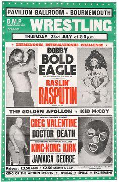 Wrestling poster •