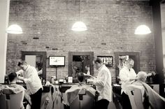 The Downtown Barber and Shave Co., Oswego, NY remains true to the history of barbershops, (Oswego county Today, 2012)