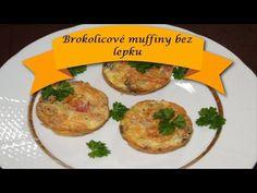 Brokolicové muffiny bez lepku  MňamRecepty Naan, Baked Potato, Potatoes, Facebook, Baking, Breakfast, Ethnic Recipes, Food, Self
