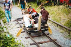 I am a tram at Henk op de Helling (2013)