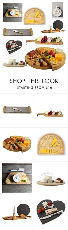 """""""cheese boards"""" by thefrenchmaker ❤ liked on Polyvore featuring interior, interiors, interior design, home, home decor, interior decorating, Michael Aram, Picnic at Ascot, Fred & Friends and LSA International"""