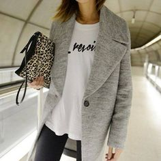 Grey and Leopard #perfectcombo