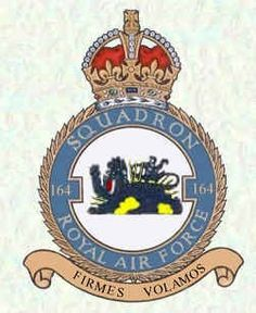 El Escuadrón N° 164 de la Real Fuerza Aérea Británica fue un escuadrón de lucha que operó principalmente en los años de la Segunda Guerra mundial, compuesto por pilotos y personal voluntarios de nacionalidad anglo-argentina.